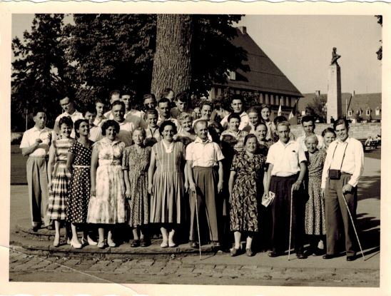 Baumschule Handel Betriebsausflug damals